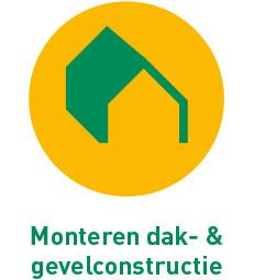 Monteren dak- en gevelconstructie